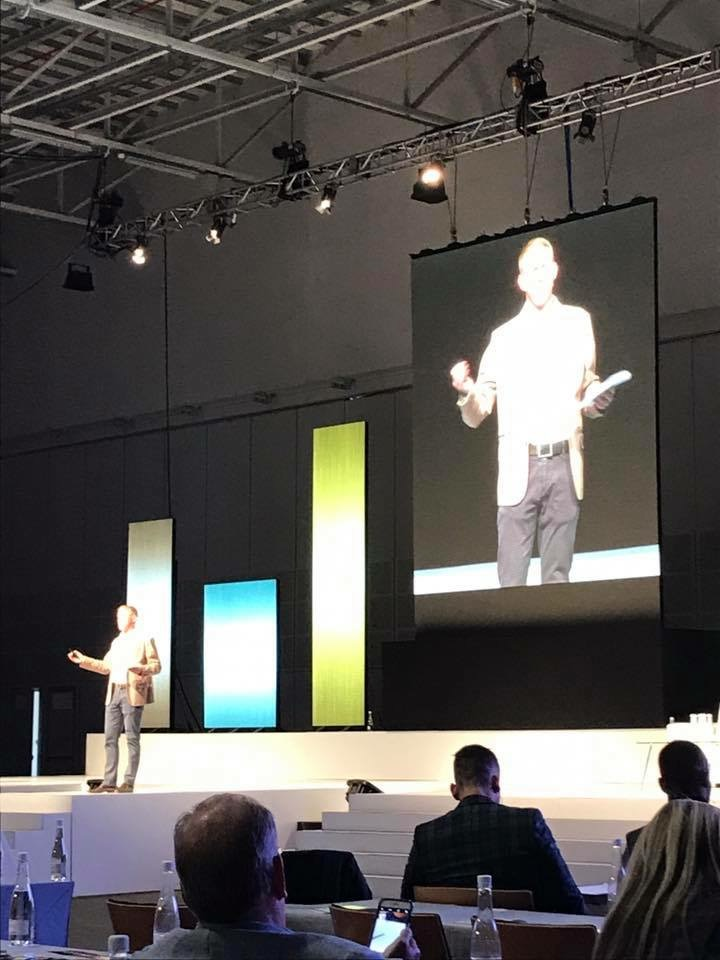 Kevin presents to 1000 property developers and shopping centre owners, 2017