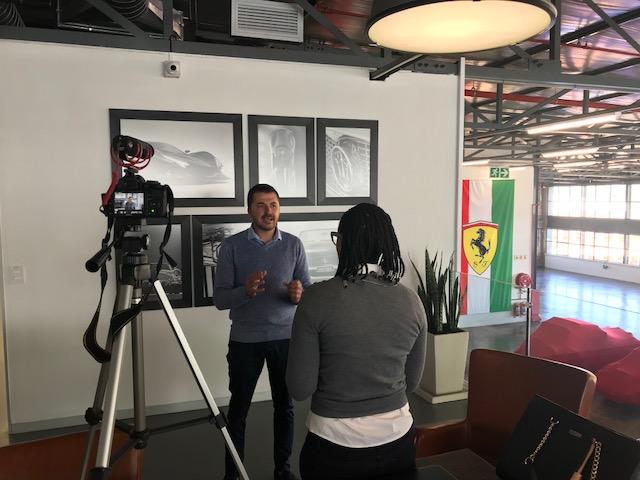 Kele media training the GM of the WheelsClub (May 2018)